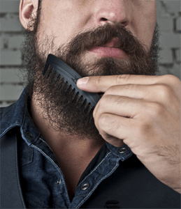 Comb the beard