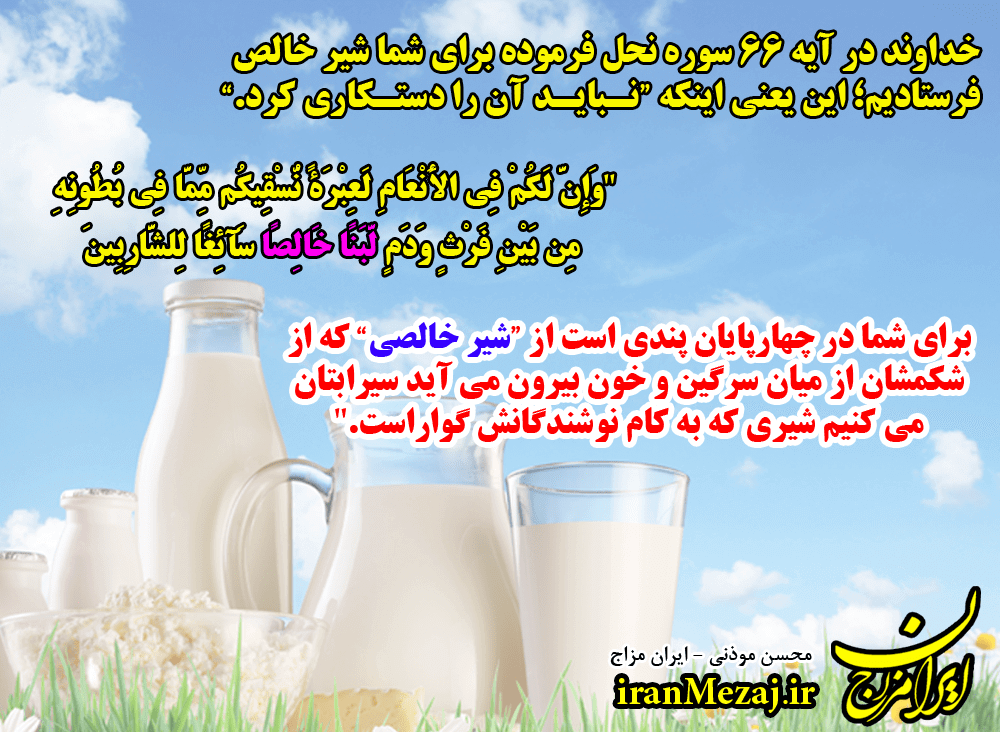 Low-fat and high-fat milk