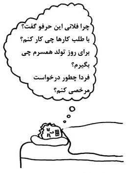 Thinking sleep