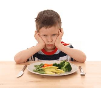 کم اشتهایی کودکان