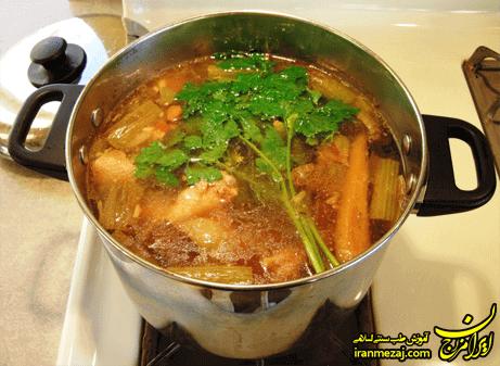 رفع شوری سوپ