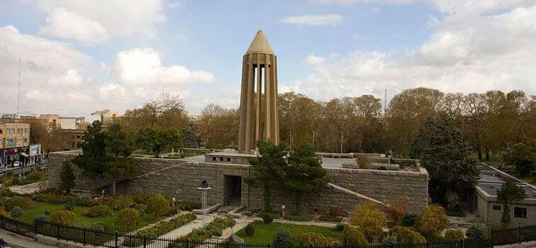 آرامگاه ابوعلی سینا در شهر همدان