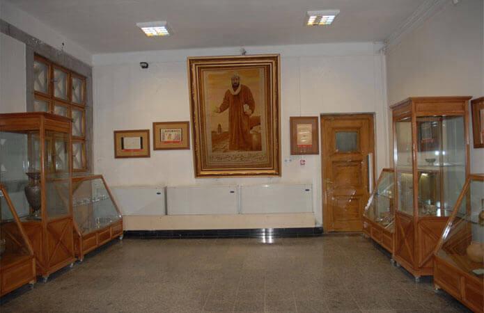 نمای داخلی موزه ابوعلی سینا