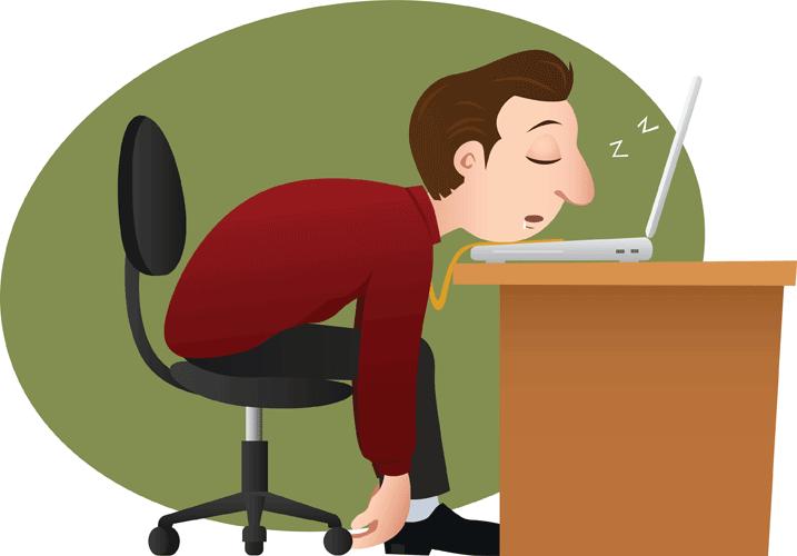 رفع خواب آلودگی با ورزش